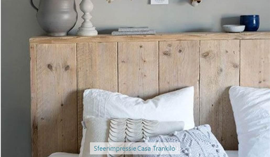achterwand hoofdeinde bed - casa trankilo